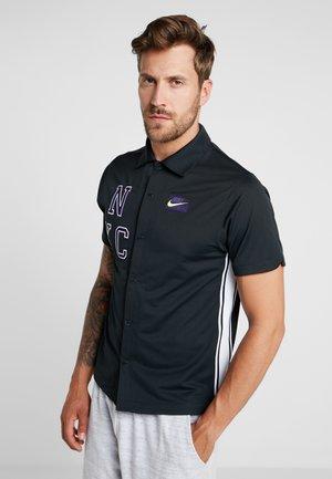 TOP - Camisa - off noir/volt