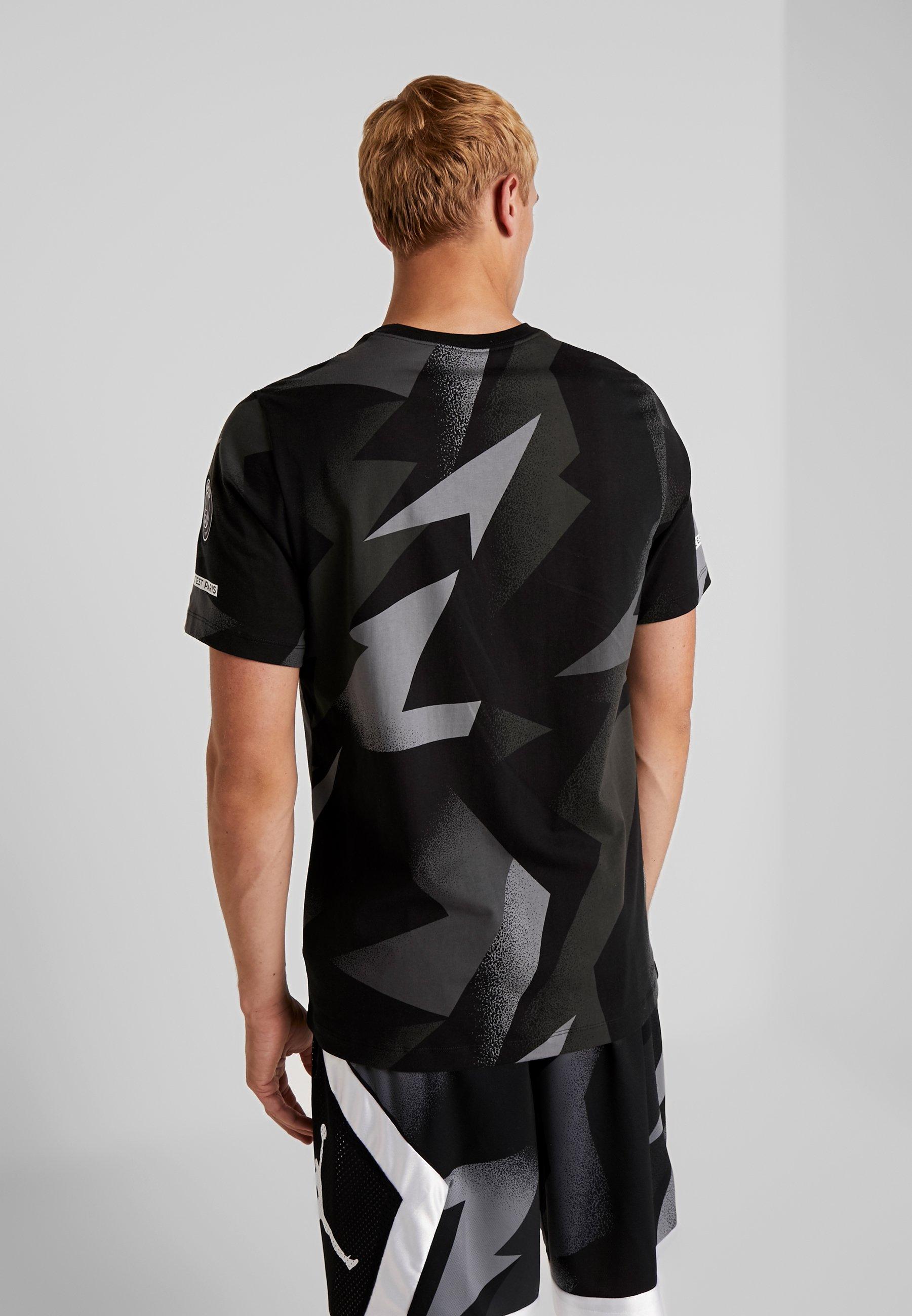 Imprimé Cat Performance Tag Nike Black TeeT Fc Jock shirt fvYb76gIym