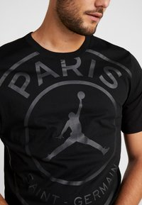 Nike Performance - PSG SS LOGO TEE - T-shirt print - black - 5