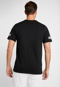 Nike Performance - PSG SS LOGO TEE - T-shirt print - black - 2