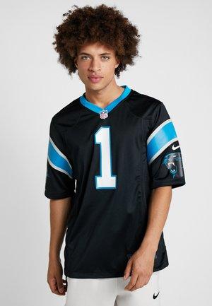 NFL CAM NEWTON CAROLINA PANTHERS - Article de supporter - black/tidal blue