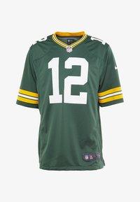 Nike Performance - NFL AARON RODGERS GREEN BAY PACKERS - T-shirt imprimé - fir - 4