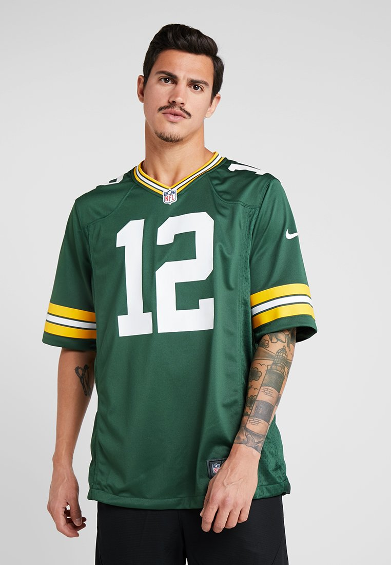 Nike Performance - NFL AARON RODGERS GREEN BAY PACKERS - T-shirt imprimé - fir
