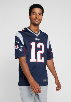 NFL TOM BRADY NEW ENGLAND PATRIOTS  - Article de supporter - college navy/wolf grey/university red