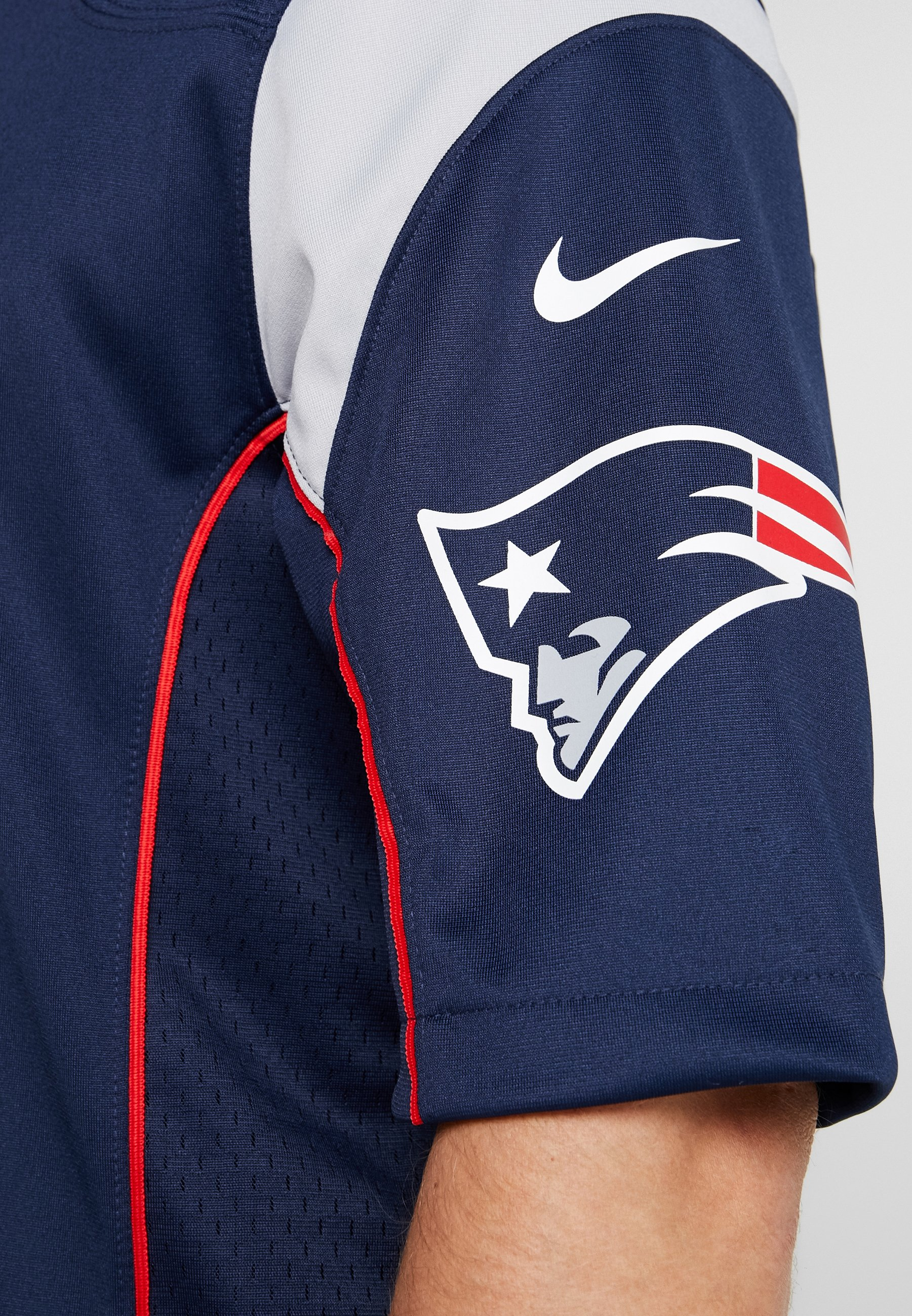 Navy New England College Grey Red De Nike university Supporter wolf PatriotsArticle Performance Nfl Tom Brady DH29IWEY