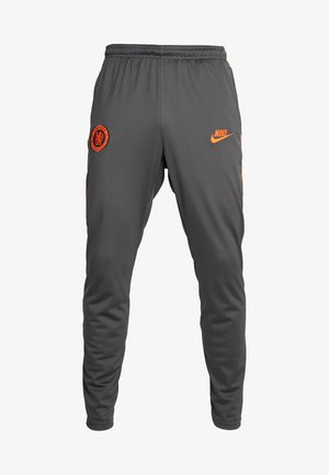 CHELSEA LONDON DRY PANT - Pantalones deportivos - anthracite/rush orange