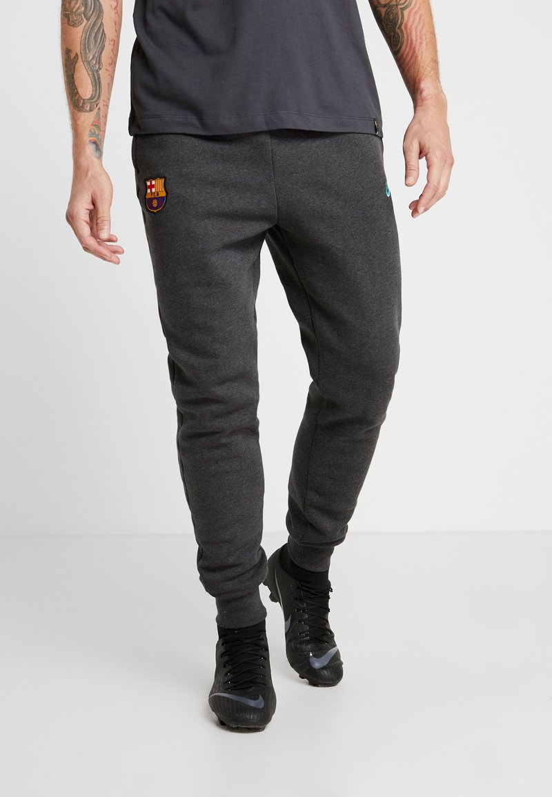 Nike Performance - FC BARCELONA PANT  - Tracksuit bottoms - anthracite/dark grey/cabana