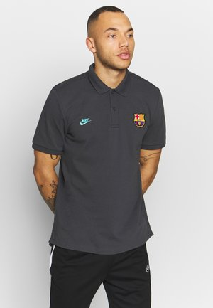 FC BARCELONA  - Polo - smoke grey/cabana