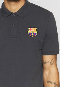 Nike Performance - FC BARCELONA  - Koszulka polo - smoke grey/cabana - 4