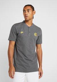 Nike Performance - INTER MAILAND MODERN  - Equipación de clubes - dark grey/charcoal heather/tour yellow - 0