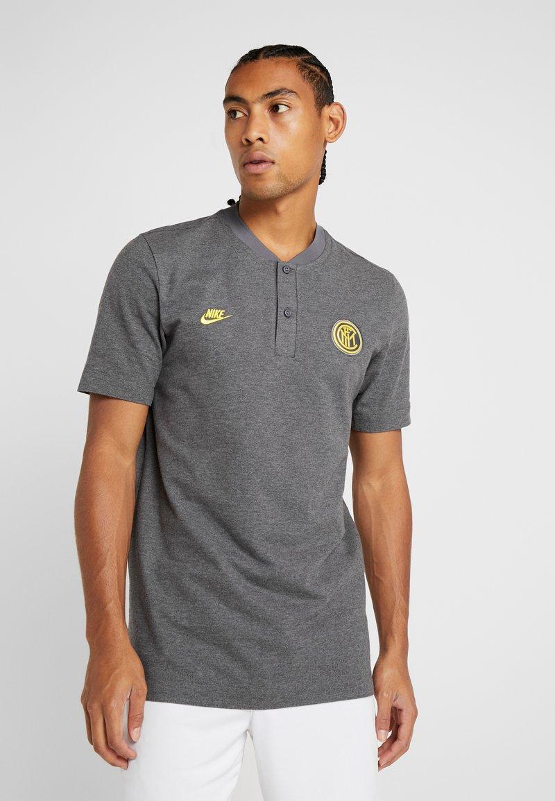 Nike Performance - INTER MAILAND MODERN  - Equipación de clubes - dark grey/charcoal heather/tour yellow