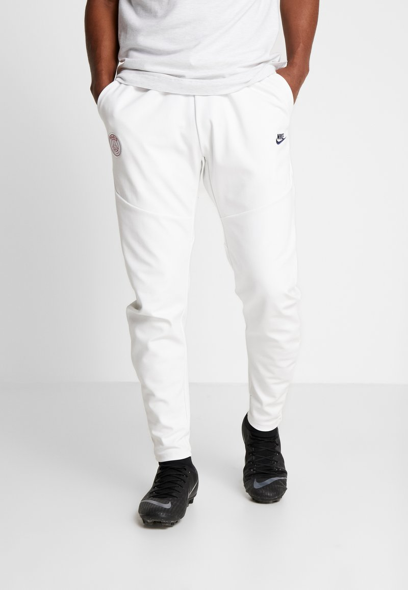 Nike Performance - PARIS ST GERMAIN PANT  - Träningsbyxor - white/midnight navy