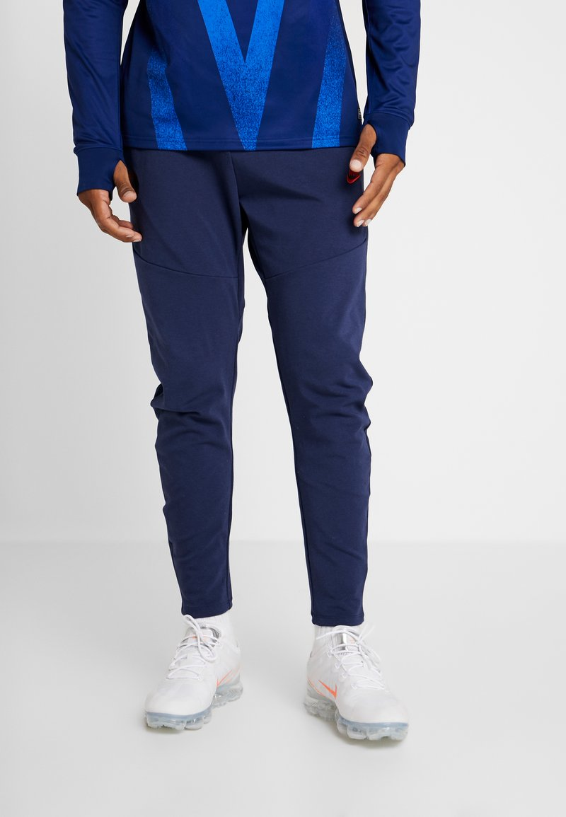 Nike Performance - PARIS ST GERMAIN PANT  - Träningsbyxor - midnight navy/university red