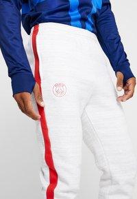 Nike Performance - PARIS ST GERMAIN PANT  - Tracksuit bottoms - white/wolf grey/university red/midnight navy - 3