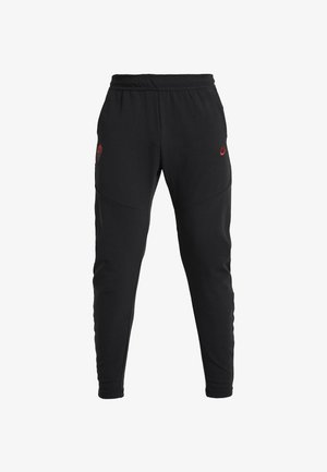 AS ROM PANT  - Tracksuit bottoms - black/team crimson