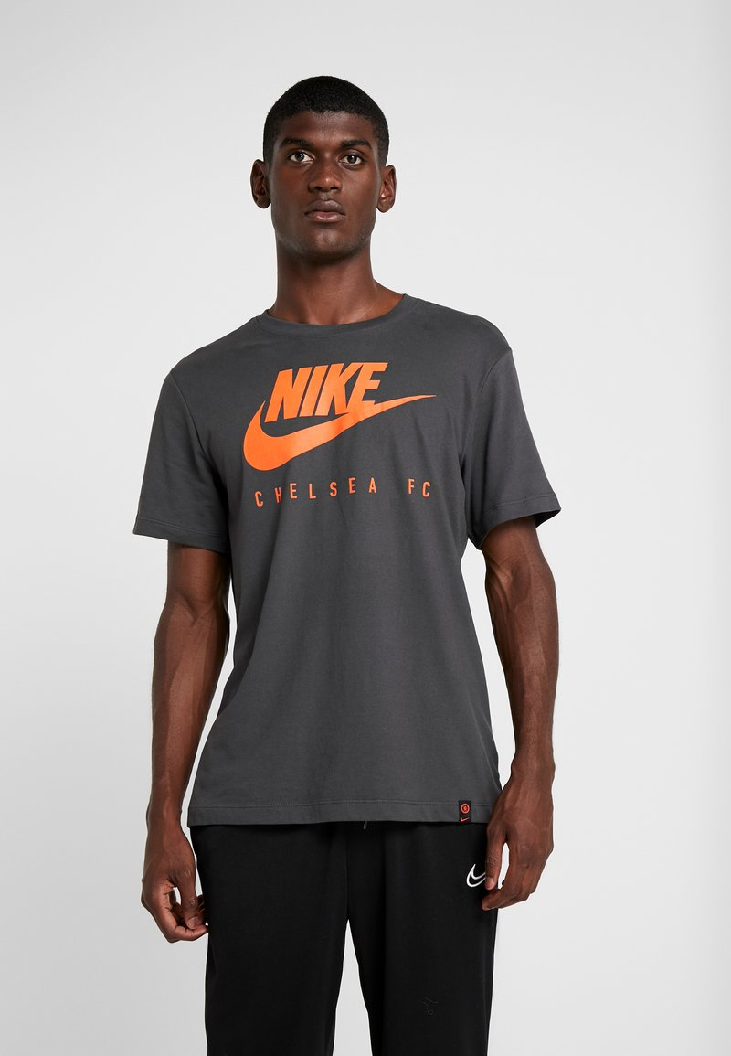 Nike Performance - CFC DRY TEE GROUND  - Equipación de clubes - anthracite