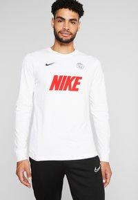 Nike Performance - PARIS ST GERMAIN DRY MATCH - Tekninen urheilupaita - birch heather - 0