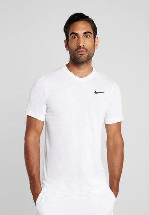DRY  - Jednoduché triko - white/black