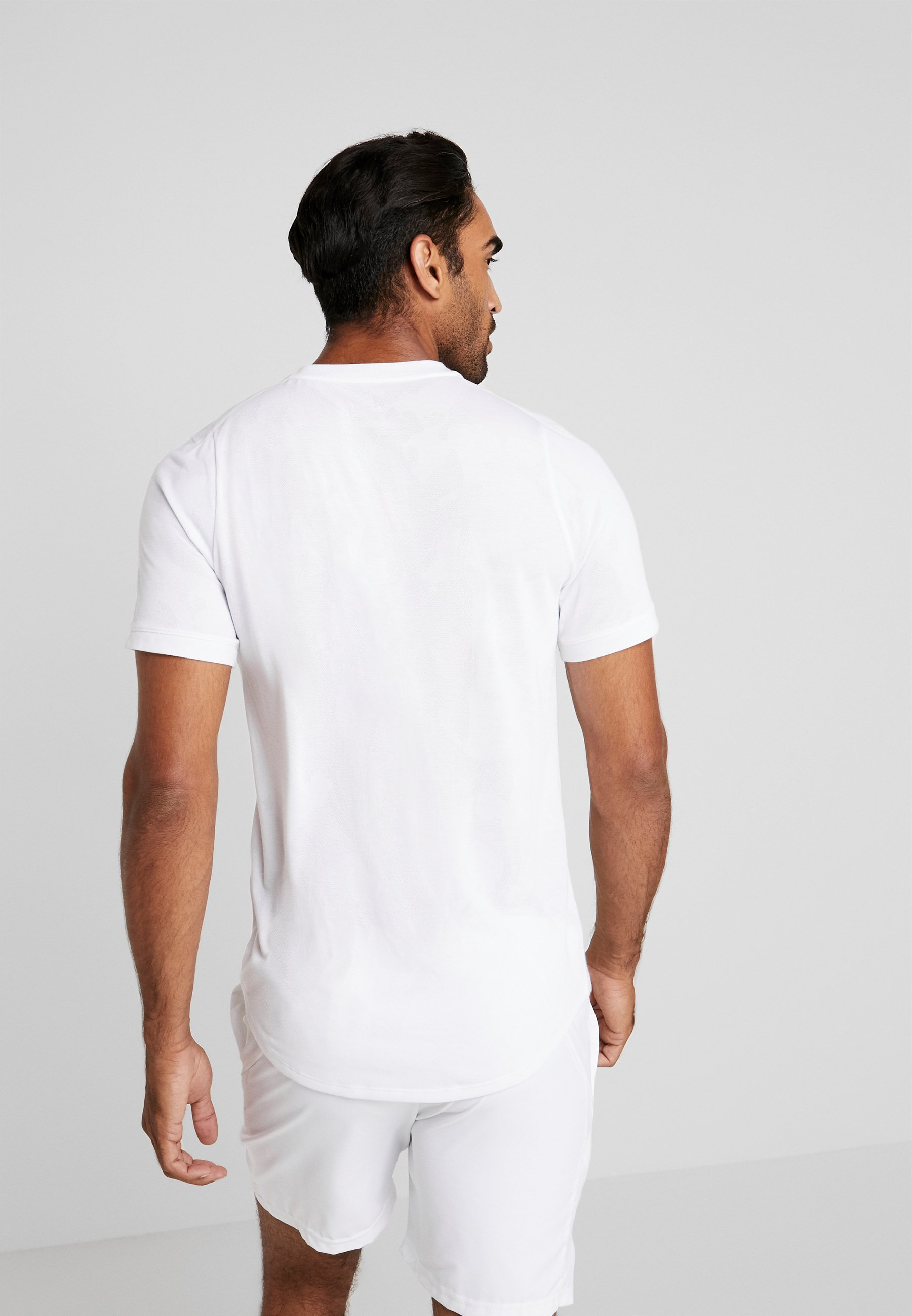 Nike Performance DRY  - T-Shirt basic - white/black