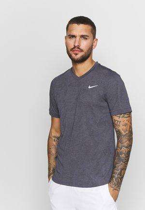 DRY  - T-shirt basic - gridiron/white