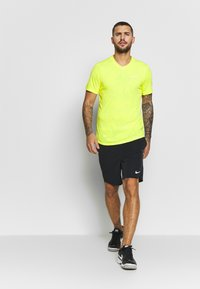 Nike Performance - DRY  - T-shirt - bas - opti yellow/white - 1