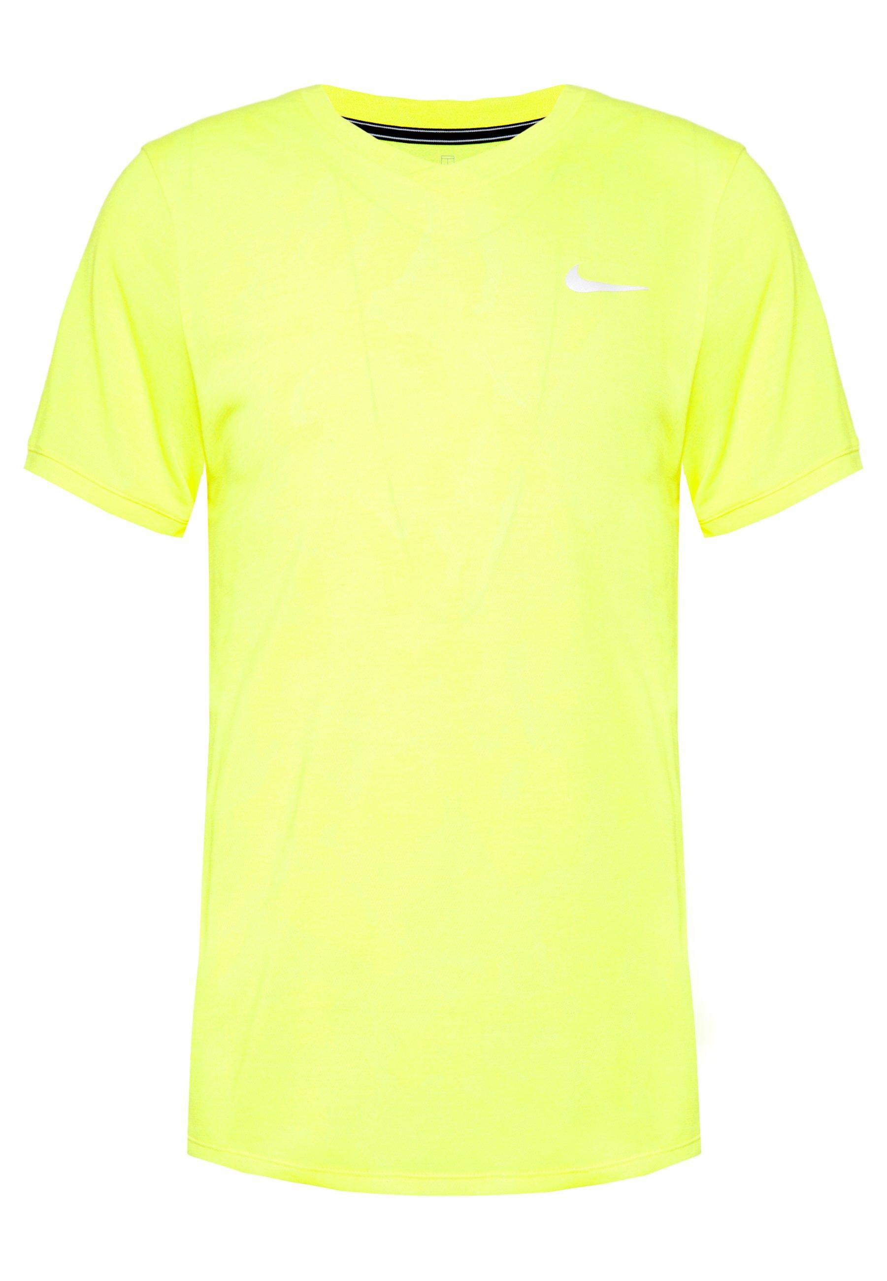 Nike Performance DRY T shirt basique opti yellowwhite