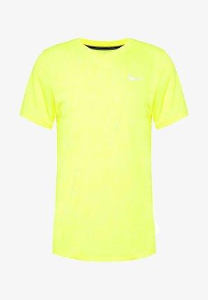 DRY  - Jednoduché triko - opti yellow/white