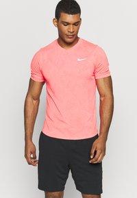 Nike Performance - DRY  - Camiseta básica - laser crimson/white - 0