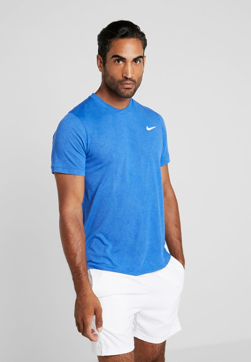 Nike Performance - DRY  - Camiseta básica - game royal/white
