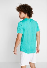 Nike Performance - DRY  - T-shirt - bas - neptune green/white - 2