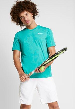 DRY  - Camiseta básica - neptune green/white