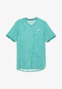 Nike Performance - DRY  - T-shirt - bas - neptune green/white - 3