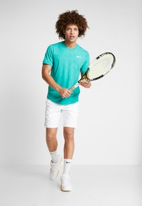 Nike Performance - DRY  - T-shirt - bas - neptune green/white - 1