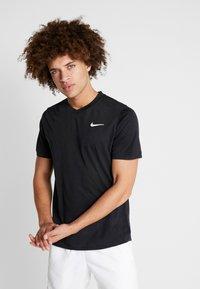 Nike Performance - DRY  - Camiseta básica - black/white - 0