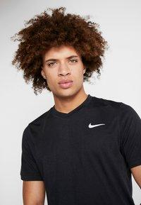Nike Performance - DRY  - Camiseta básica - black/white - 3