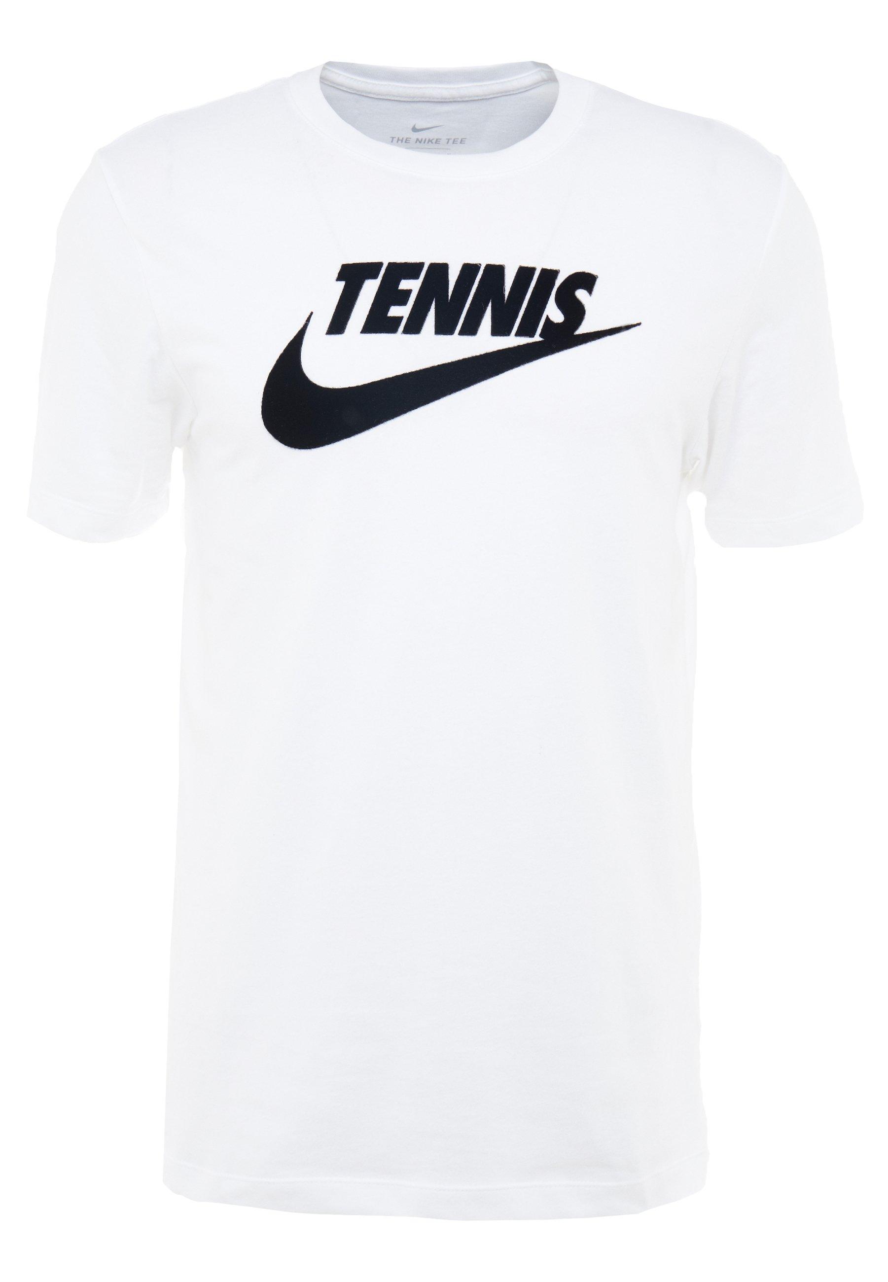 Nike Performance M NKCT - T-shirt con stampa - white/black