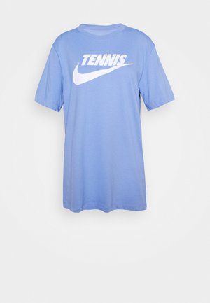 TEE TENNIS - T-shirt con stampa - royal pulse/white