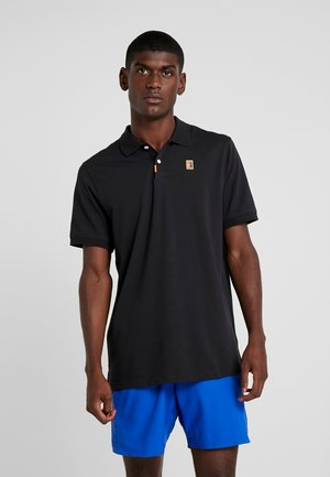 THE NIKE POLO HERITAGE SLIM - Camiseta de deporte - black