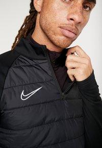 Nike Performance - DRY WINTERIZED - Sweat polaire - black/silver - 5