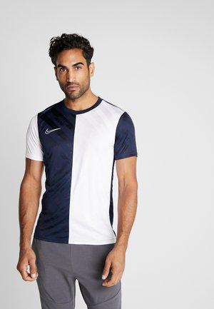 DRY ACADEMY - T-shirt med print - obsidian/white