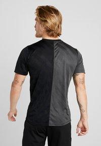Nike Performance - DRY ACADEMY - Print T-shirt - black/anthracite - 2