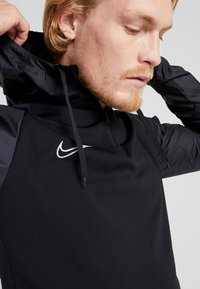 Nike Performance - DRY WINTERIZED - Long sleeved top - black/reflective silver - 3