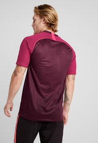 Nike Performance - FC HOME - Print T-shirt - night maroon/noble red/racer pink - 2