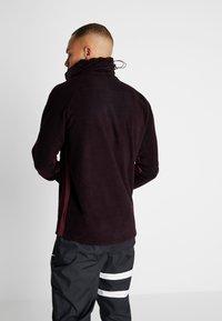 Nike Performance - Fleece jumper - burgundy ash/night maroon/racer pink - 2