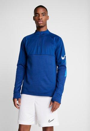 THERMA SHIELD STRIKE - Fleece jumper - coastal blue//light photo blue/silver