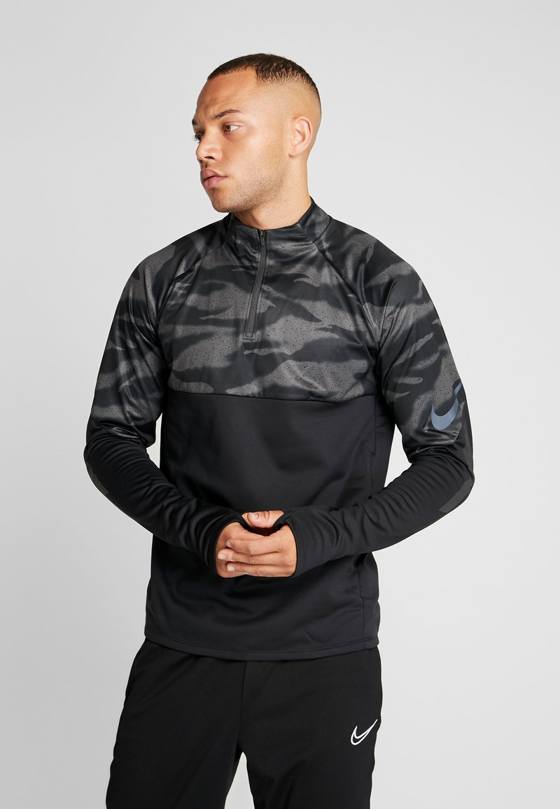 Nike Performance - THERMA SHIELD STRIKE - Fleece jumper - black/anthracite