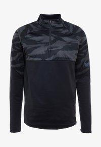 Nike Performance - THERMA SHIELD STRIKE - Fleece jumper - black/anthracite - 5
