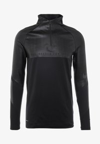 Nike Performance - WINTERIZED - Tekninen urheilupaita - black/reflect black/anthracite - 5