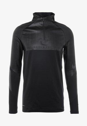 WINTERIZED - Tekninen urheilupaita - black/reflect black/anthracite