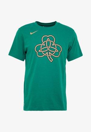 NBA BOSTON CELTICS CITY EDITION LOGO TEE - T-shirt med print - clover